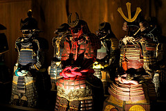 Some suites of Japanese Armor